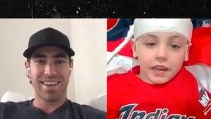 MLB's Shane Bieber Surprises Kids In Hospital With Virtual Meet & Greet