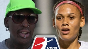 Dennis Rodman's Daughter, Trinity, Goes #2 Overall In NWSL Draft
