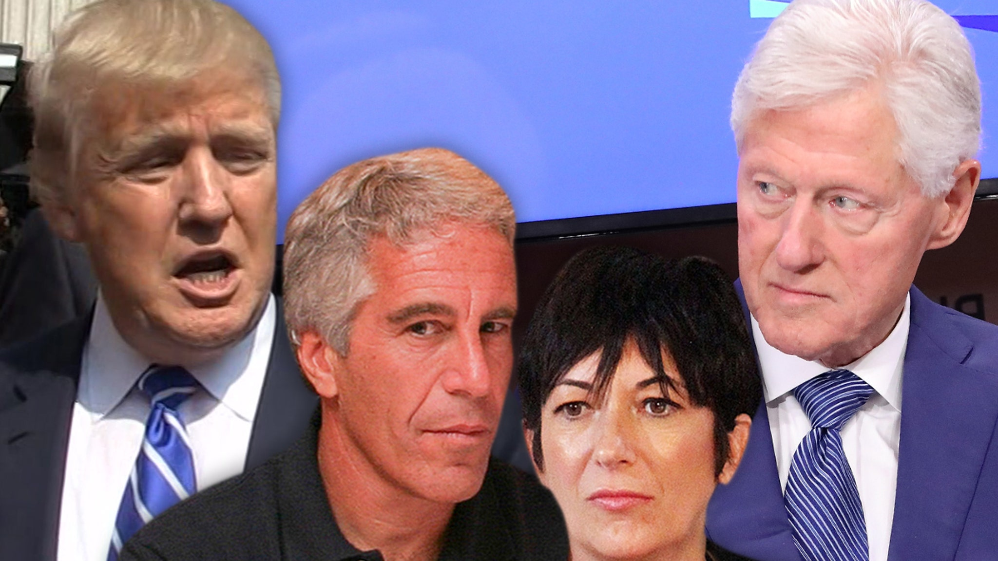 Ghislaine Maxwell Allegedly Revealed Epstein Had Secret Tapes on Trump, Clinton