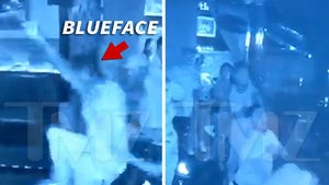 Blueface and Crew Viciously Attack Club Bouncer on Video