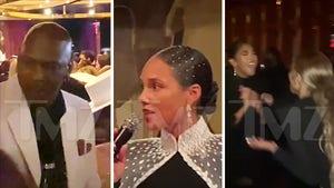 Alicia Keys' Met Gala Party Attracts Big Stars: Leo, MJ, Elon, Serena & More