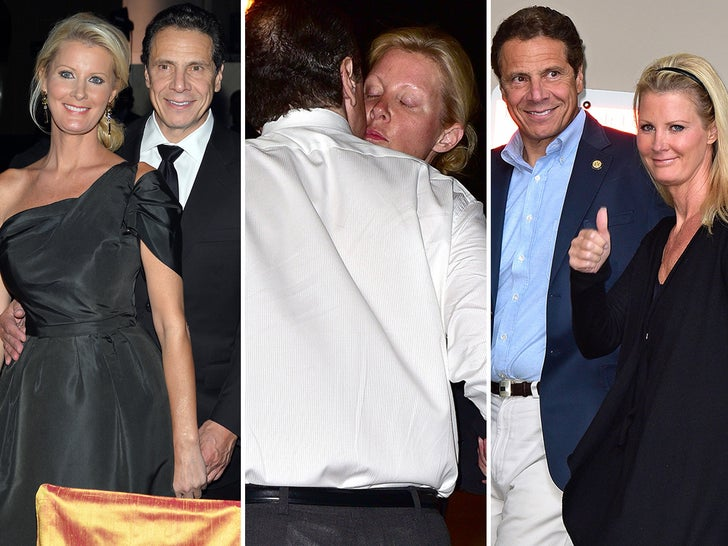 Andrew Cuomo and Sandra Lee -- Happier Times