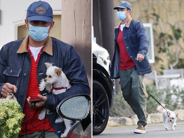 Orlando Bloom Out With His New Pup