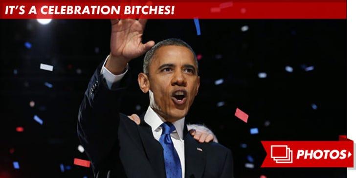 Obama Wins -- It's a Celebration Bitches!