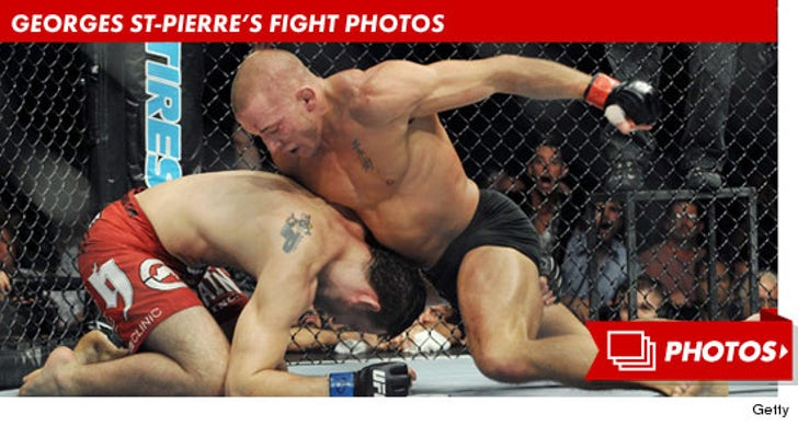 Georges St-Pierre's Fight Photos