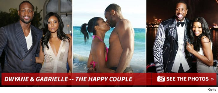Dwyane Wade & Gabrielle Union -- The Happy Couple