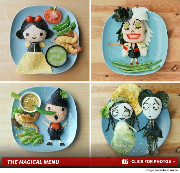 Disney Favorites In Food Form -- Feast Your Eyes on the Magical Meals!