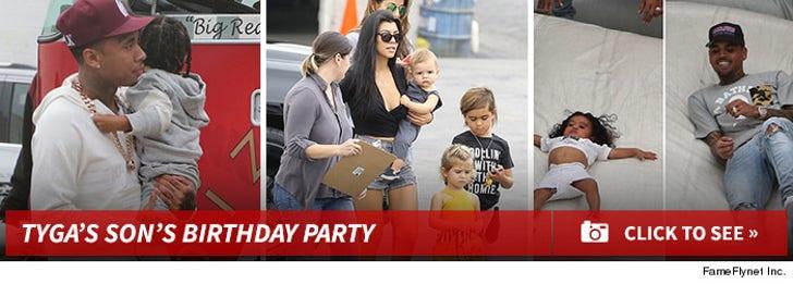 Tyga's Son's Birthday Party