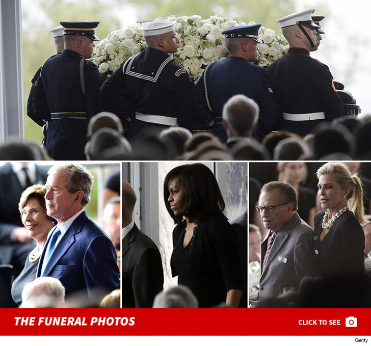 Nancy Reagan's Funeral
