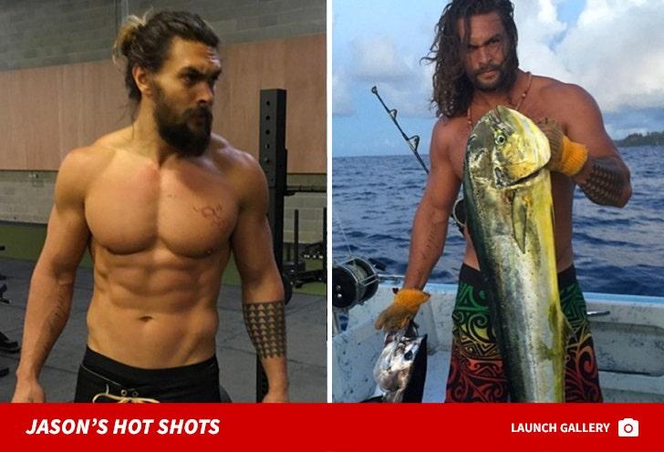Jason Momoa's Hot Shots