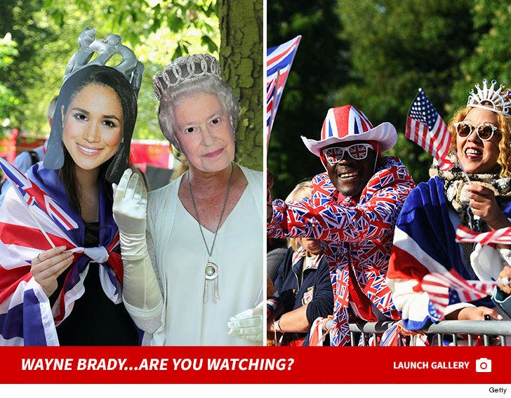 The Royal Wedding Decked Out Fans