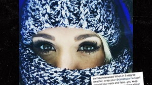 Carrie Underwood Required More Than 40 Stitches in Her Face After Fall
