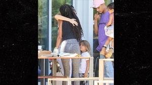 Kourtney Kardashian Hugs It Out with Willow Smith After Jordyn Drama
