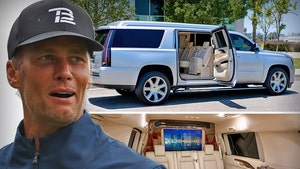 Tom Brady's Pimped Out Cadillac Escalade For Sale at $300,000!