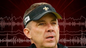 Sean Payton Gives Advice On Reporter's Mustard Stain After Hilarious Hot Mic Fail