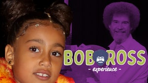 North West Gets Bob Ross Experience Invite After Haters Question Her Skill