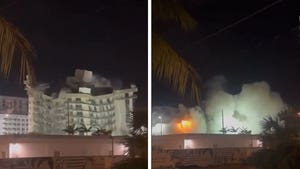 Remaining Part of Miami Surfside Condo Comes Down After Controlled Explosion