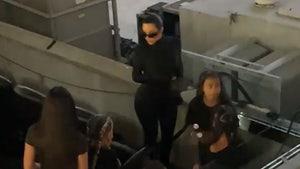 Kim Kardashian & Kids Attend Kanye's 'Donda' Event Yet Again