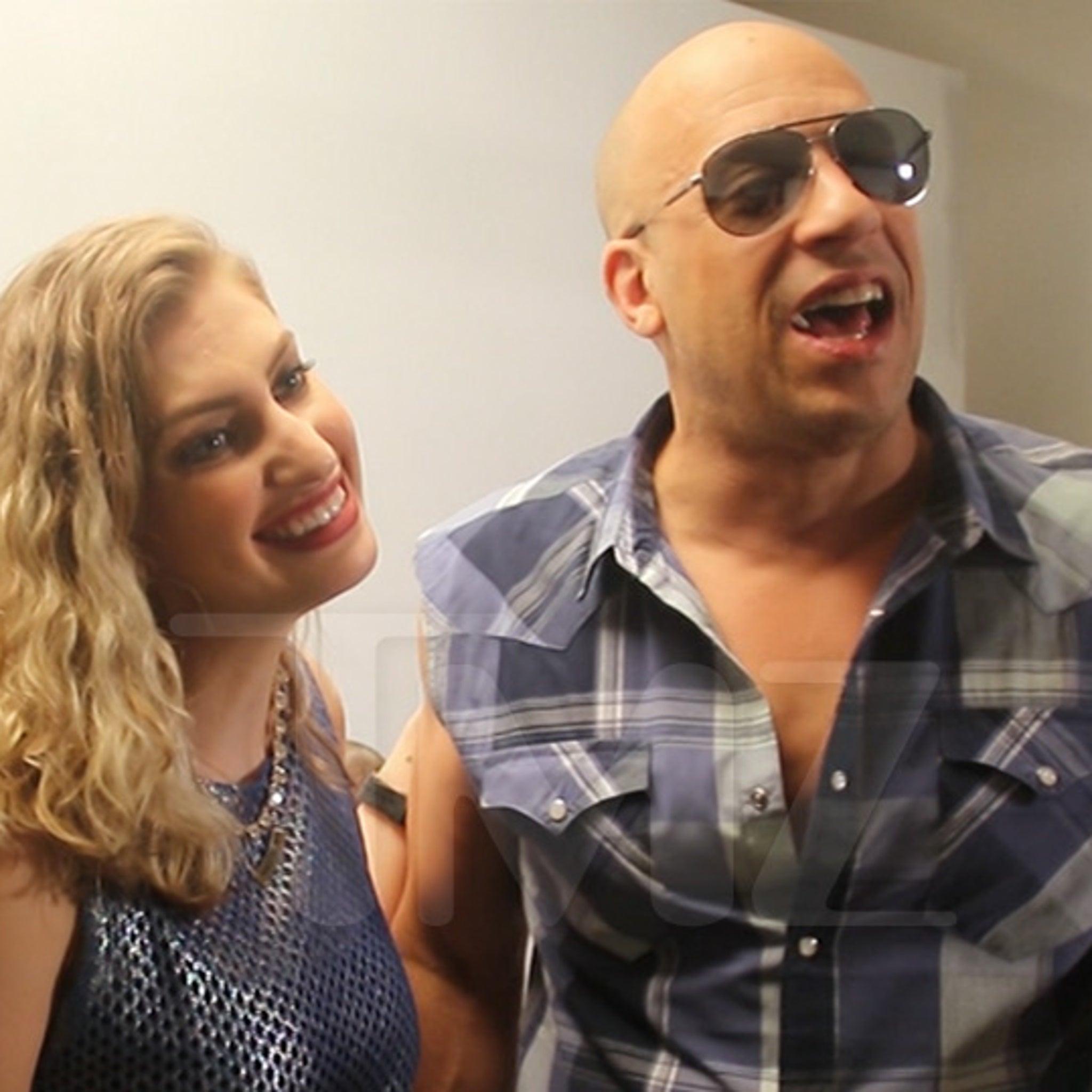 Vin Diesel's Brazilian Reporter Was Into Him After Bizarre Interview