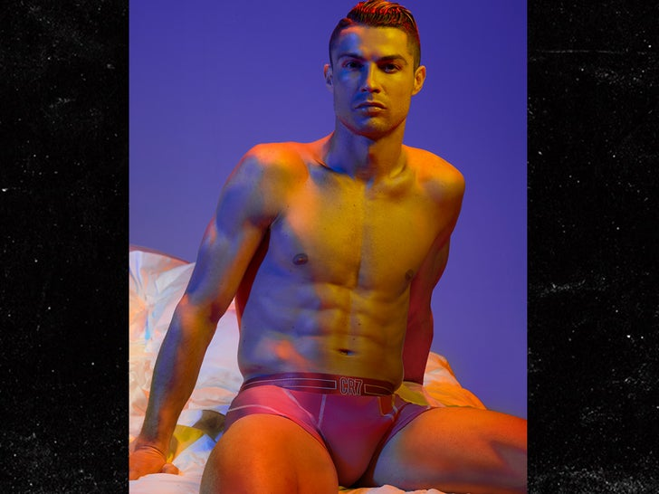 Cristiano Ronaldo Models New CR7 Underwear