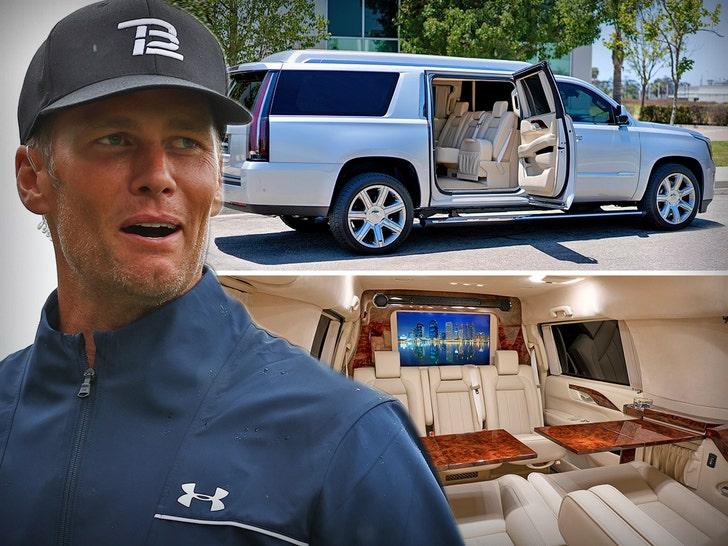 Tom Brady's Epic Escalade For Sale