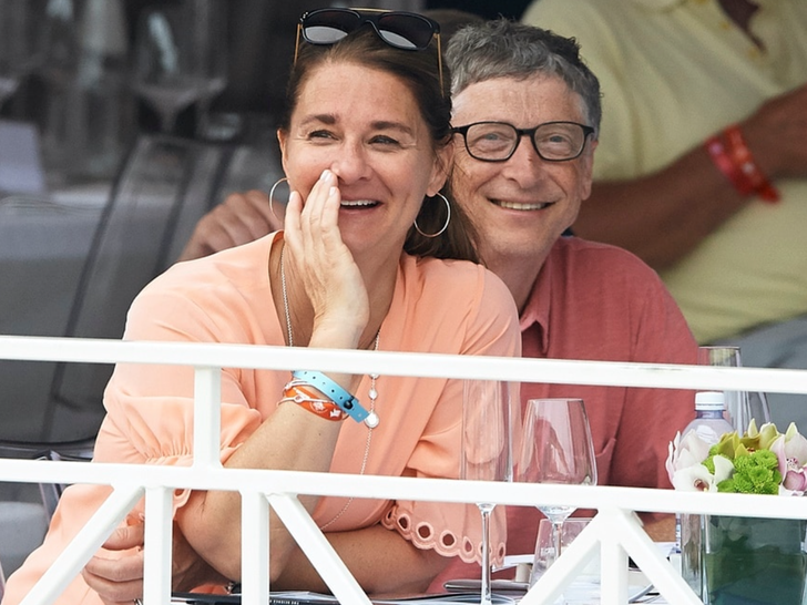 Bill and Melinda Gates -- Happier Times
