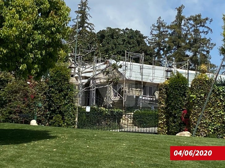 Playboy Mansion -- Under Construction