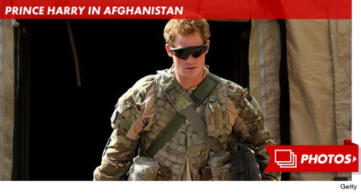 Prince Harry Serving in Afghanistan
