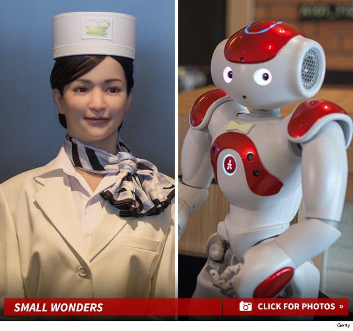 Japan's Henn na Hotel -- Meet The Robot Staff!