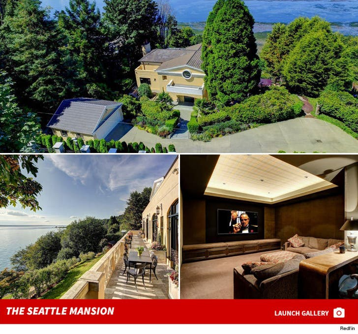 Ryan Lewis Lists his Seattle Mansion