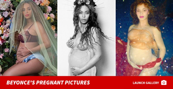 Beyonce's Pregnant Pictures -- You Ready for This Belly?