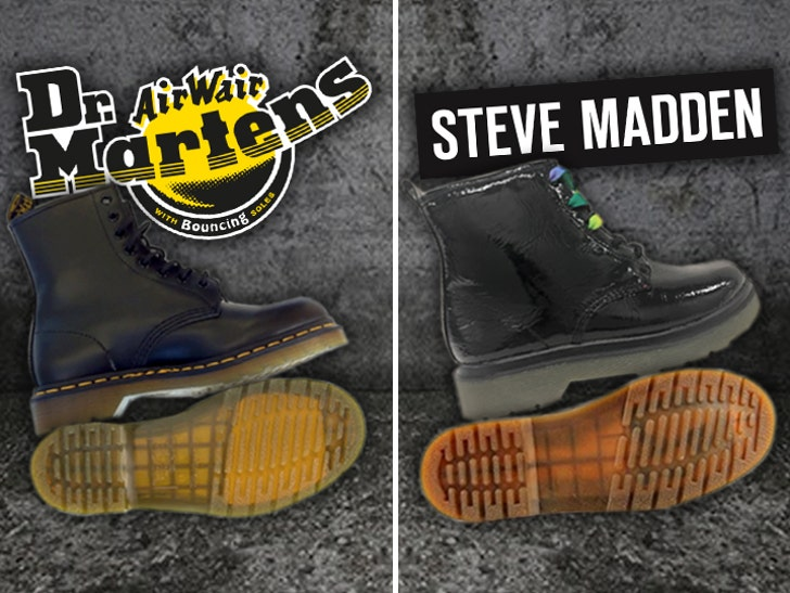 5614ecb7199 Doc Martens Sues Steve Madden for Sole Snatching