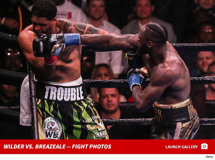 Deontay Wilder vs. Dominic Breazeale -- Fight Photos