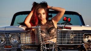 Eazy-E's Daughter Celebrates His Birthday with Chevy Impala Photo Shoot