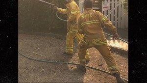 Rob Lowe Fights Santa Barbara Wildfires, Feeds Firefighters