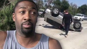 Gilbert Arenas Not At Fault In Wild Rollover Crash