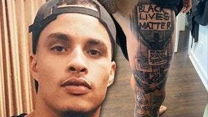 NFL's Kenny Stills Gets Massive 'Black Lives Matter' Tattoo, 'Stop Killing Us'