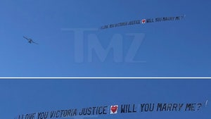 Victoria Justice Says 'Maybe' To Skywriting Wedding Proposal From Secret Admirer