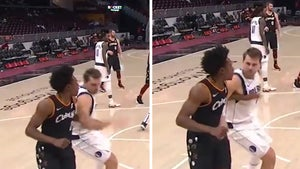 NBA's Luka Doncic Ejected for Bashing Collin Sexton Right in the Ding Dong