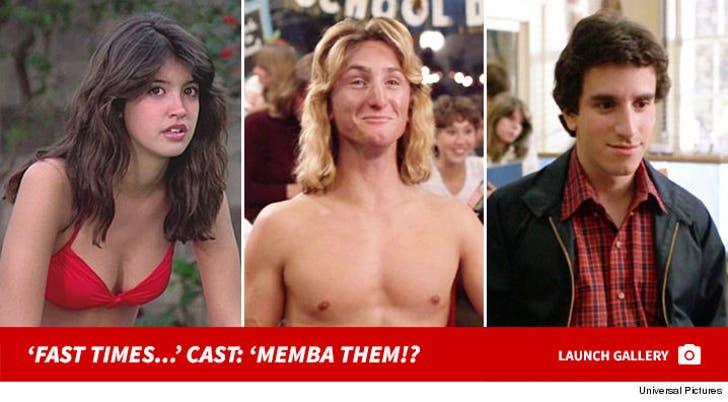 """Fast Times at Ridgemont High"" Cast: 'Memba Them!?"
