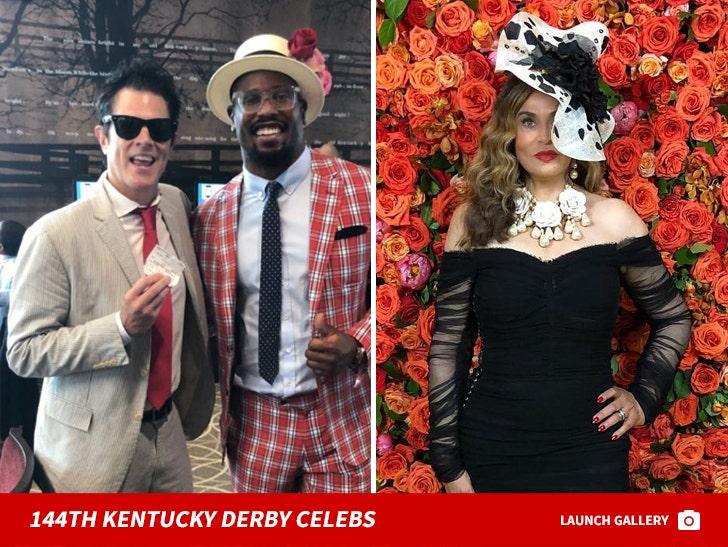 Kentucky Derby 2018 Celebs