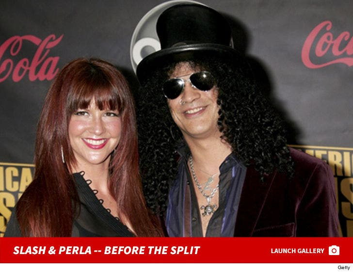 Slash and Perla Ferrar -- Happier Times