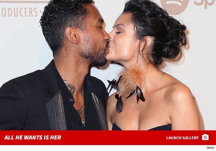 Miguel and Nazanin Mandi -- All He Wants is Her