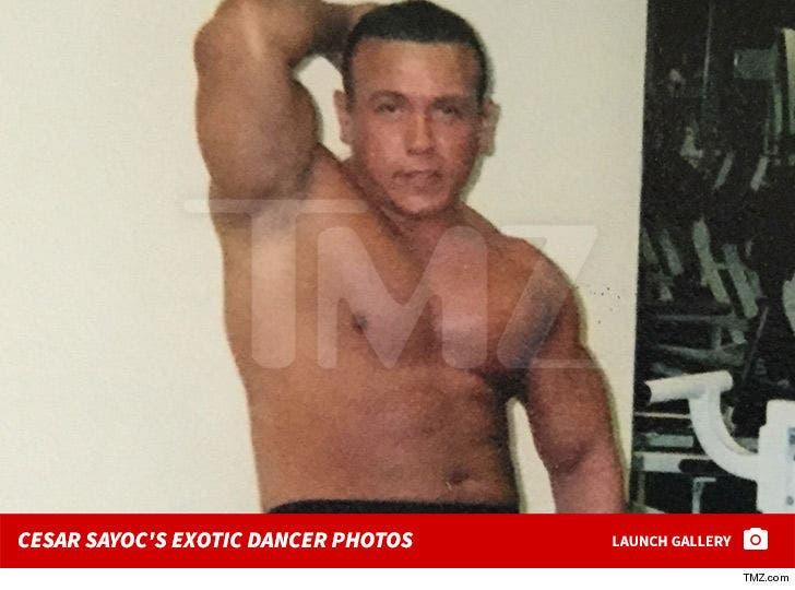 Cesar Sayoc's Exotic Dancer Photos