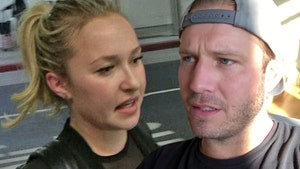 Hayden Panettiere's BF Arrested for Domestic Violence, Allegedly Punched Her