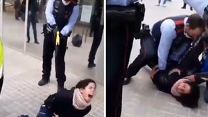 Woman Tased by Cops in Spain, Allegedly Assaulted Medical Staff