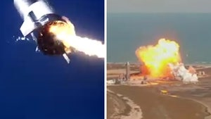 SpaceX Starship Test Flight Blows Up Again, Can't Quite Stick Landing