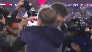 Tom Brady And Bill Belichick Hug After Bucs Beat Patriots