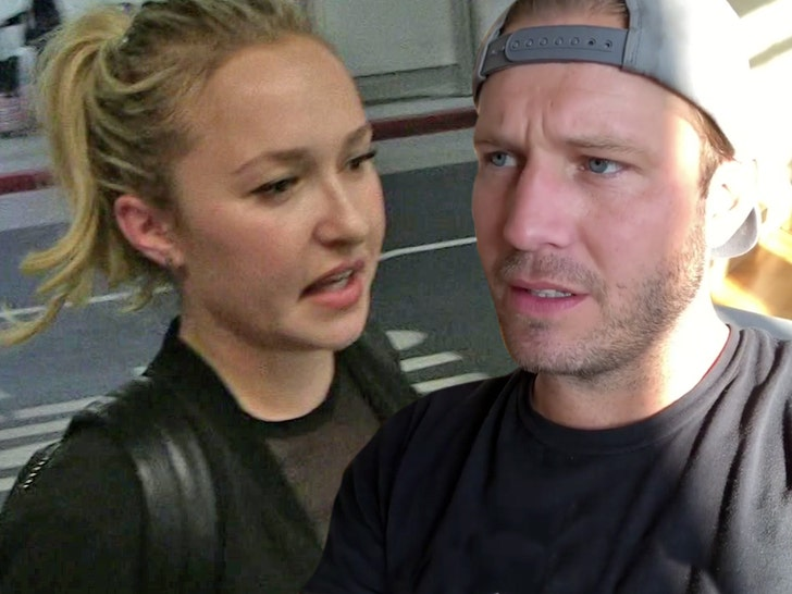 Hayden Panettiere's Boyfriend Arrested for Domestic Battery