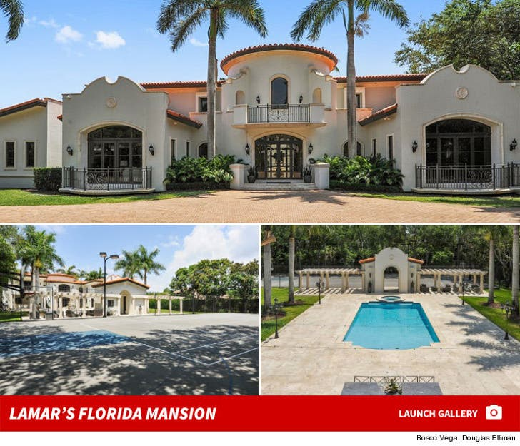 Lamar Odom's Florida House Can Be Yours for a Cool $5.2 Million!!!